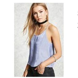 Forever 21 silky tank top